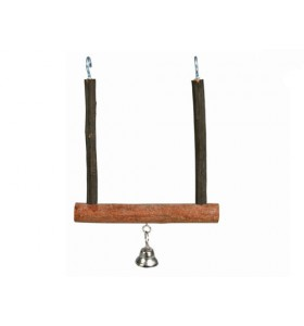 Trixie Bird Natural Living Swinging Bell 12 × 15cm